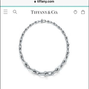 ISO Tiffany Hardwear Graduated Link necklace